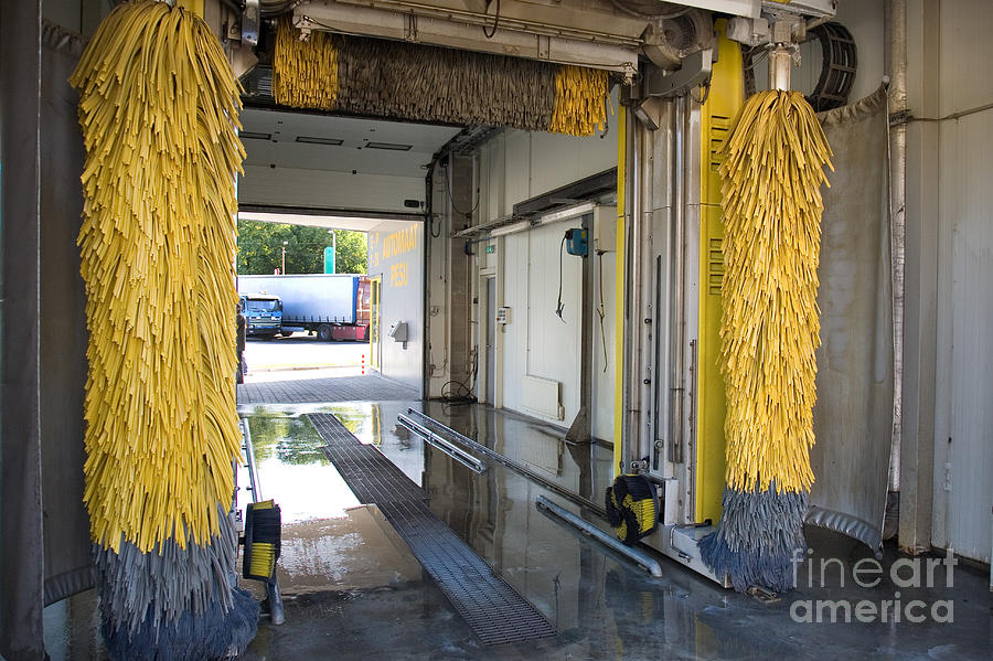 Automatic Photograph - Car Wash Interior by Jaak Nilson