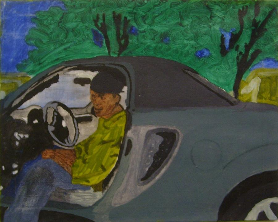Car Painting by Yetha Lumumba