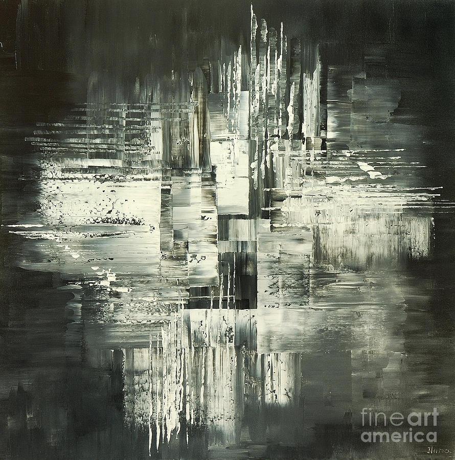 Carbon Concerto Painting by Tatiana Iliina