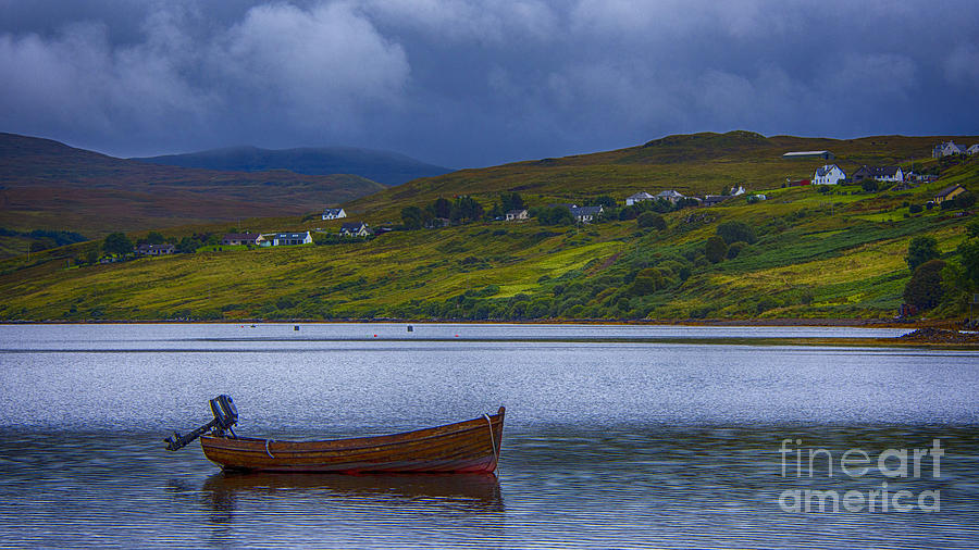 Carbost Loch Harport Photograph