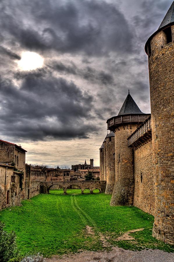 Carcassonne Photograph - Carcassonne Castle by Gareth Davies