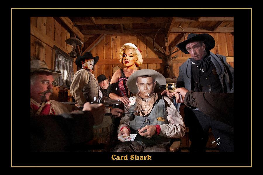 Card Sharks Marilyn Monroe James Dean Humphrey Bogart James
