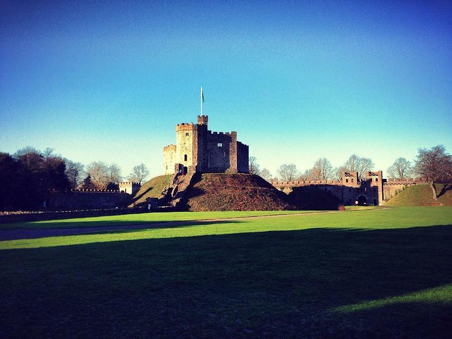 Cardiff Photograph - Cardiff Castle  by Rossana Azzoni