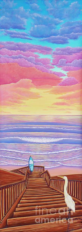 Cardiff Sunset by Elisabeth Sullivan