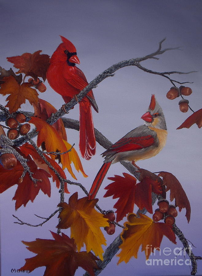 Cardinal Fall by Michael Allen