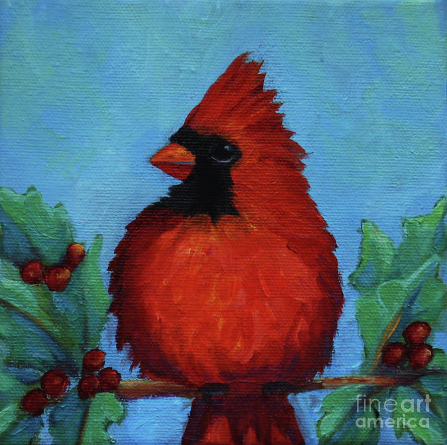Cardinal by Victoria Page