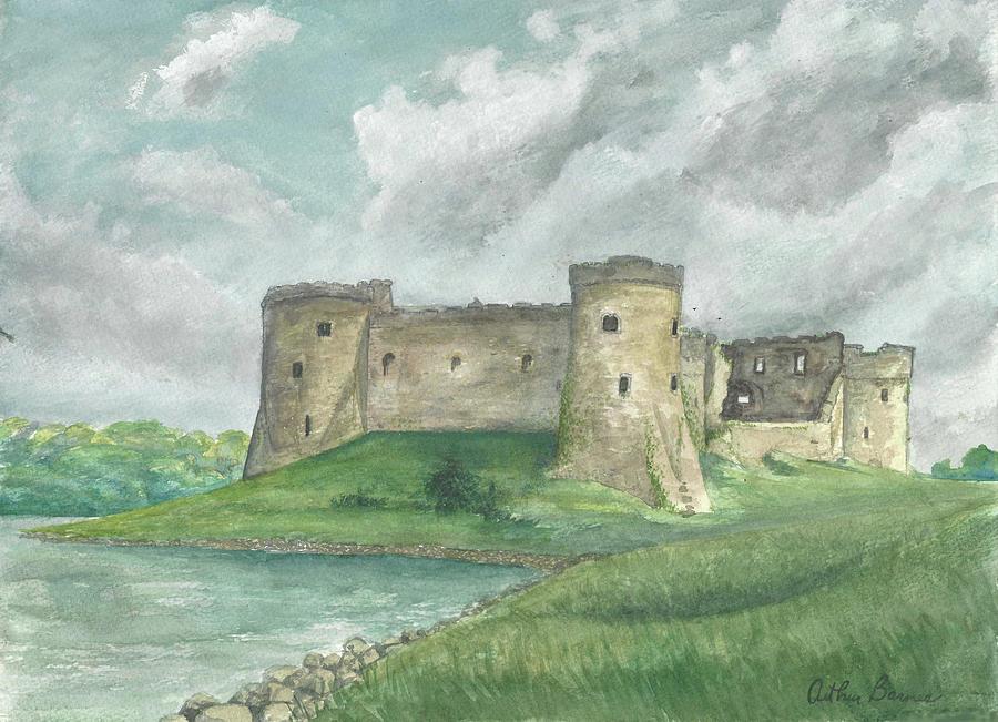 Carew Castle 1994 Painting