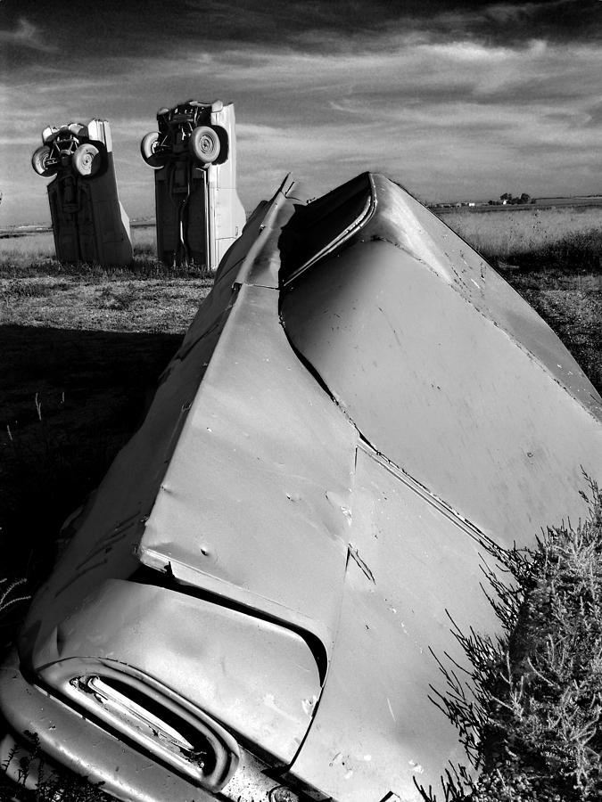 Carhenge Photograph - Carhenge by Todd Fox
