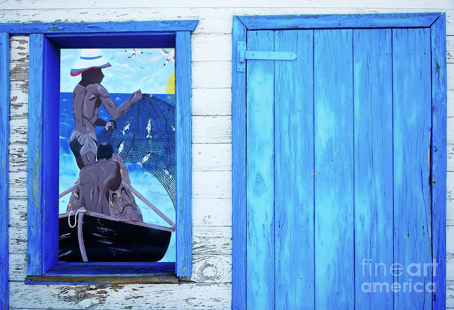 Caribbean Photograph - Caribbean Blues by Bob Christopher