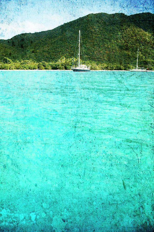 Caribbean Cruising Photograph by Guy Crittenden