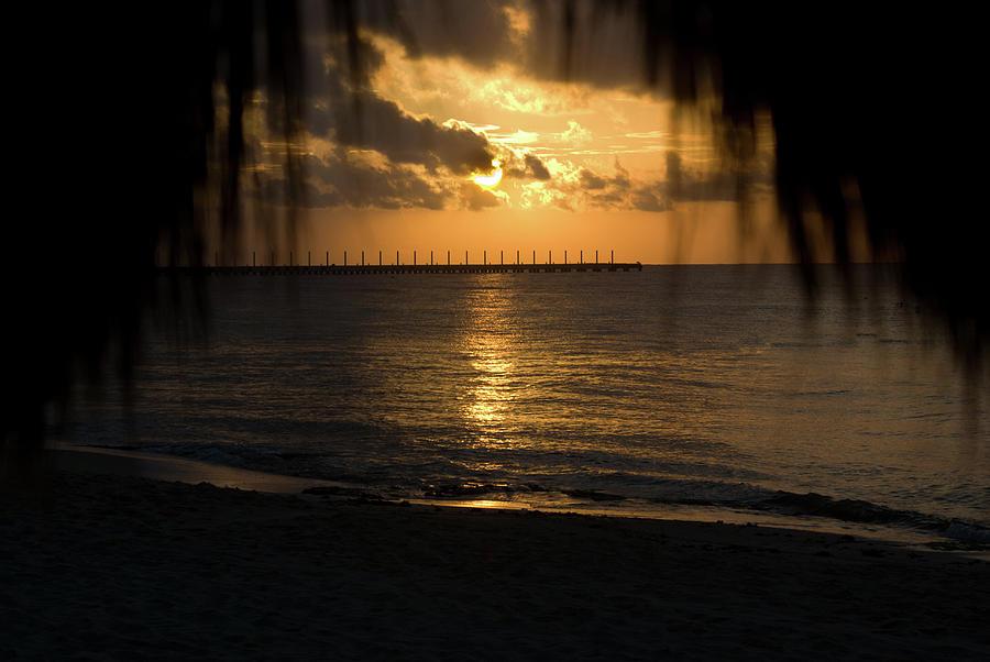 Joy Photograph - Caribbean Early Sunrise 5 by Douglas Barnett