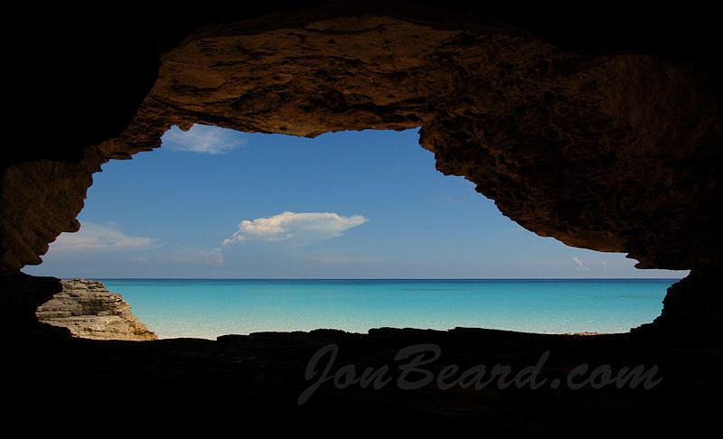 Eleuthera Photograph - Caribbean Portal by Jon Beard