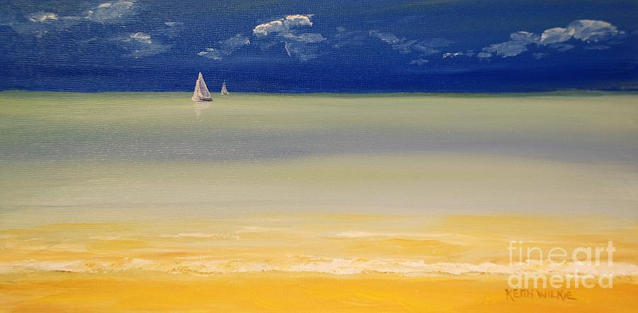 Caribbean Sail by Keith Wilkie