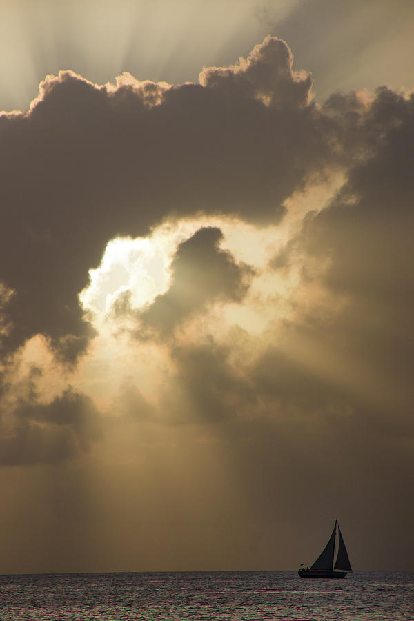 America Photograph - Caribbean Skies And Light 2 by Riccardo Forte
