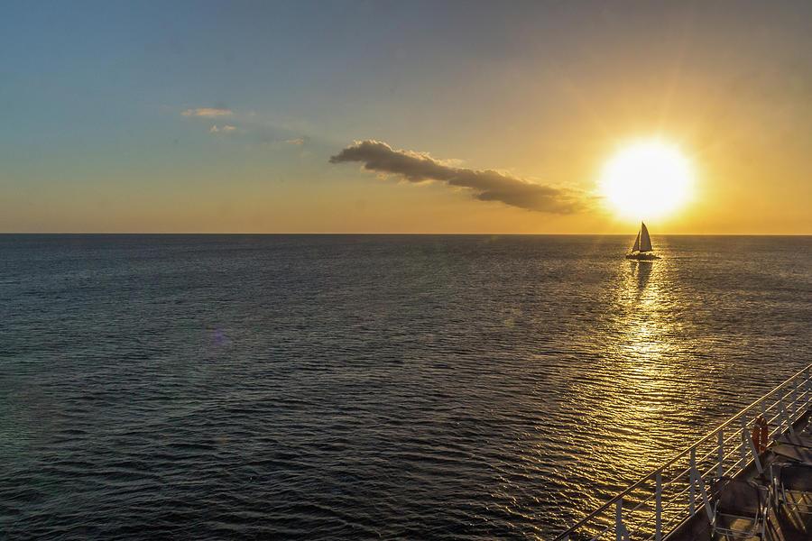Caribbean Sunset Photograph