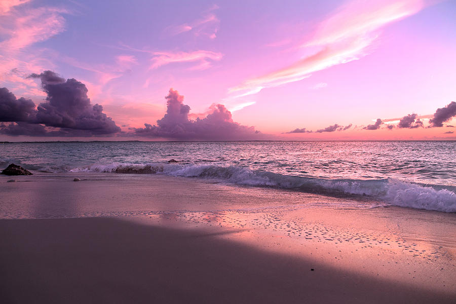 Beach Photograph - Caribbean Tranquility  by Betsy Knapp