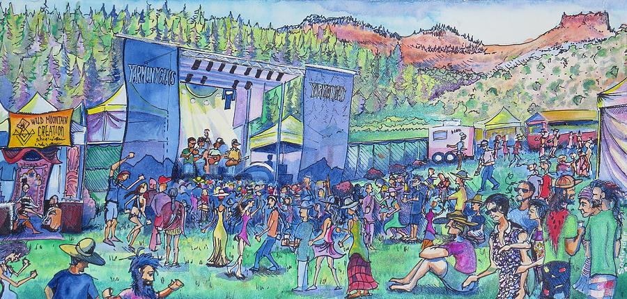 Caribou Mountain Collective at YarmonyGrass by David Sockrider