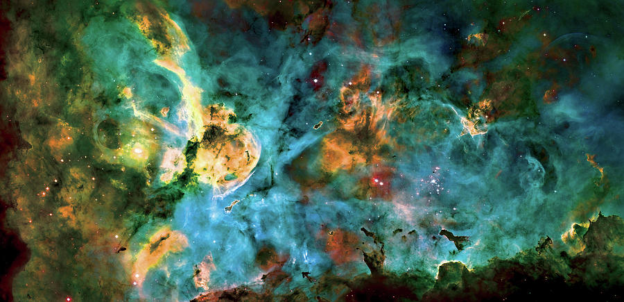 Nebula Photograph - Carina Nebula 2  by Jennifer Rondinelli Reilly - Fine Art Photography