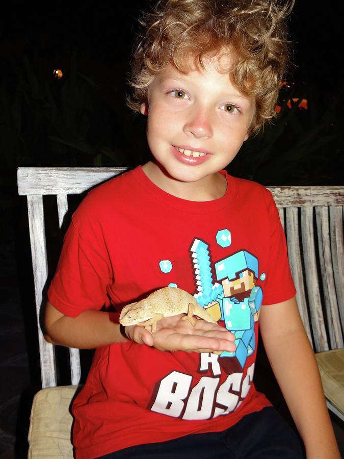 Unschooling Photograph - Caring for chameleons 1 by Exploramum Exploramum