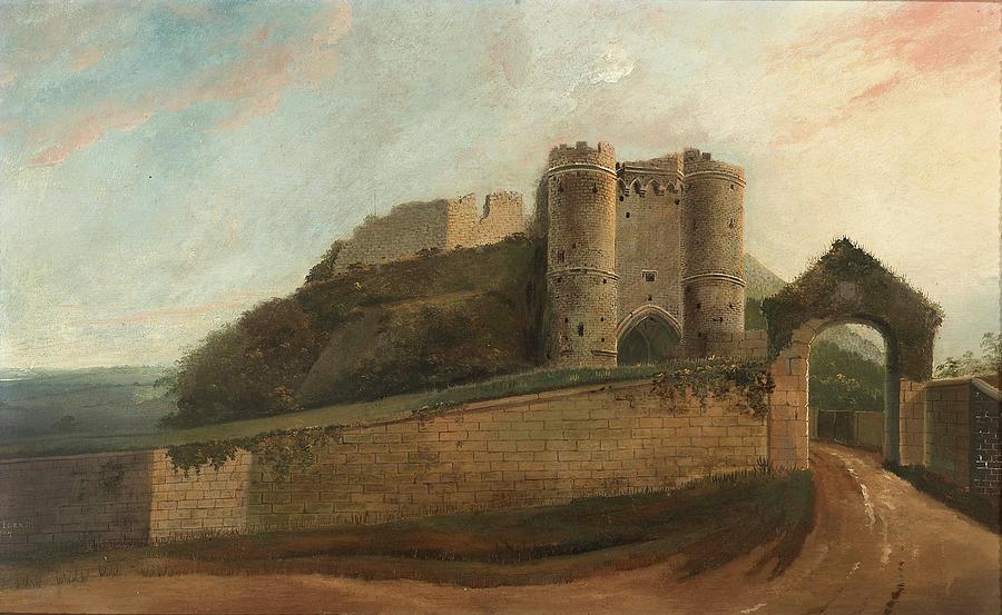 Carisbrooke Castle Painting
