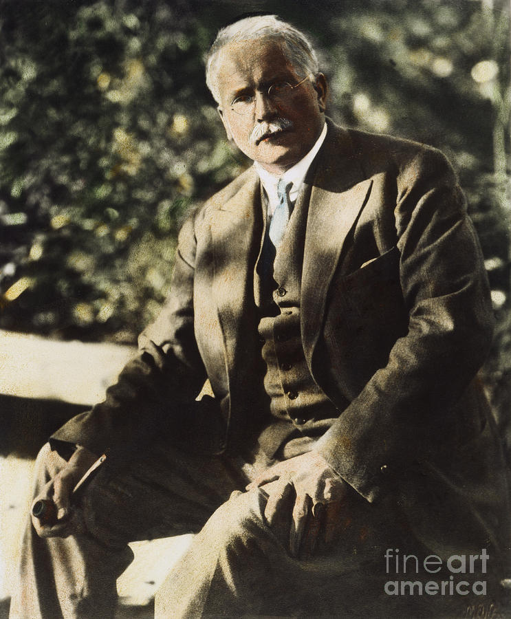 20th Century Photograph - Carl G. Jung  by Granger