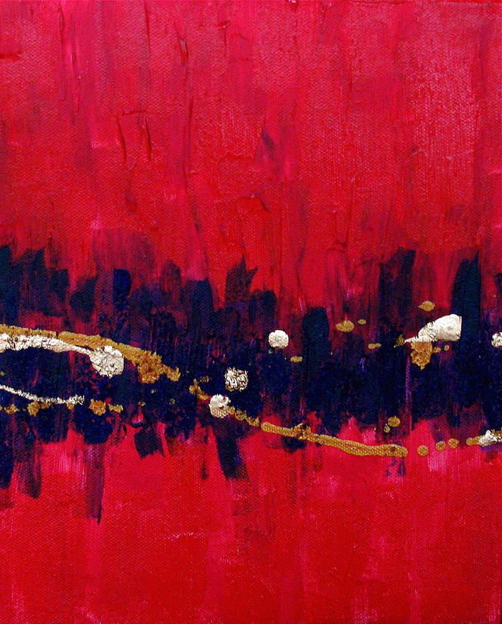 Abstract Painting - Carla Number Three by Jess Thorsen