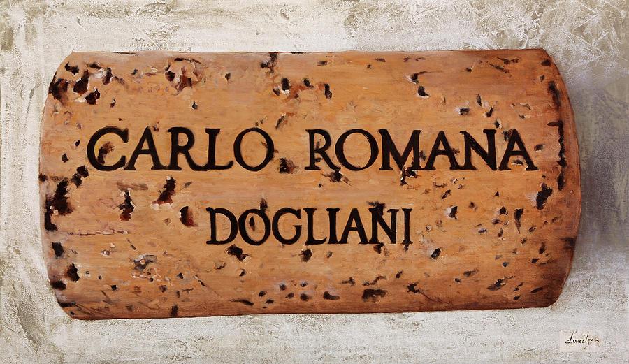 Carlo Romana Dogliani Painting