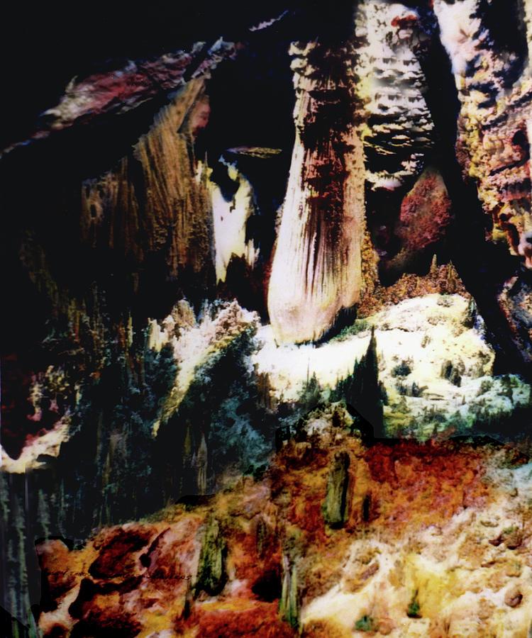 Carlsbad Caverns Photograph - Carlsbad Caverns by Joe Hoover