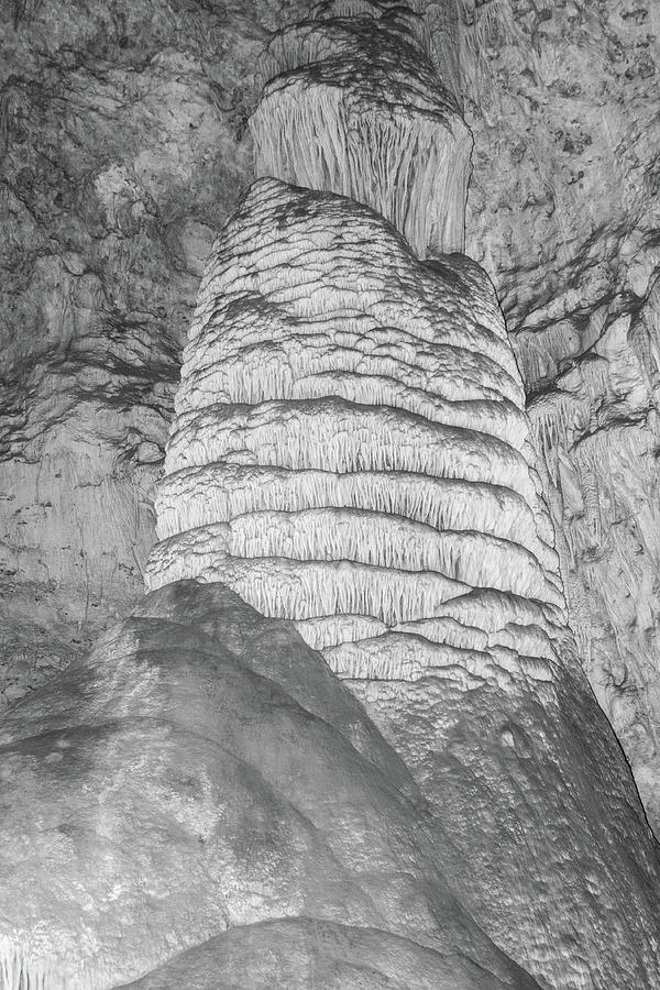 Carlsbad Stalagmite by James Gay