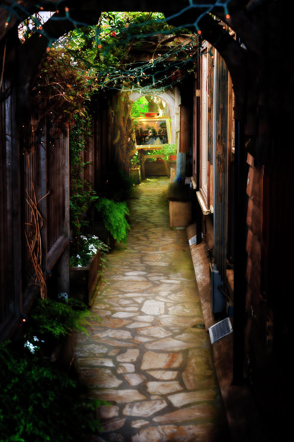 Carmel Alleyway by Bill Dodsworth
