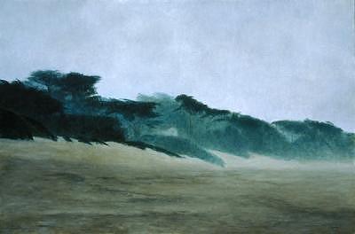Carmel Beach Painting - Carmel Beach by Laura Wynne