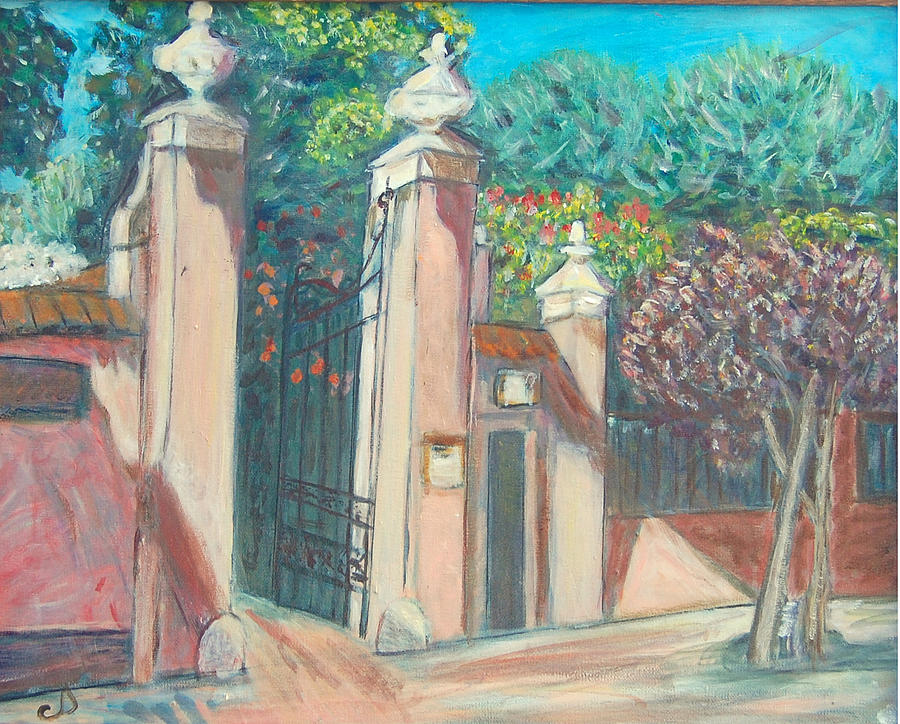 Carmelite Monastery by Carolyn Donnell