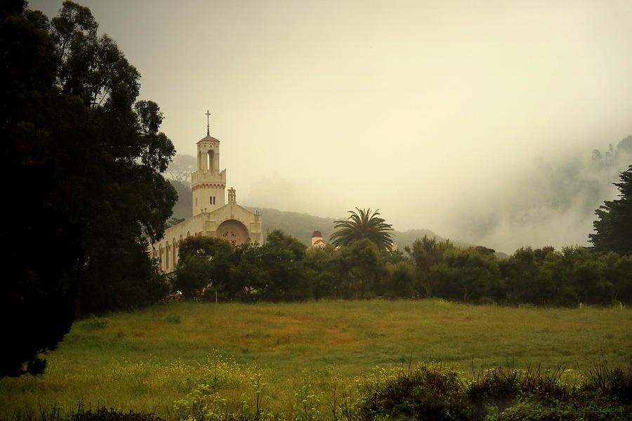 Carmelite Monastery Fog by Joyce Dickens