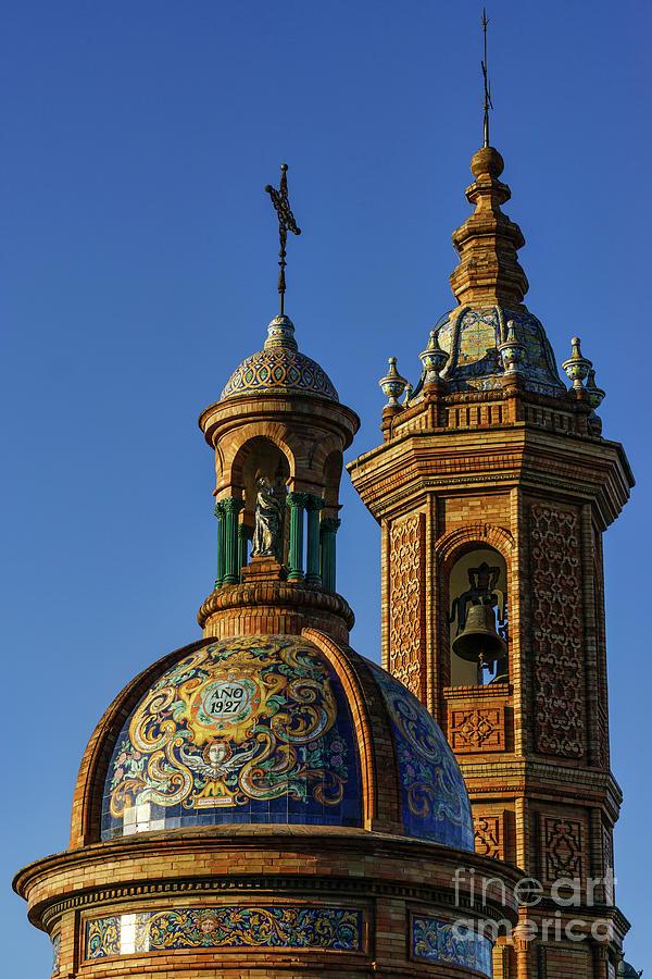 Andalucia Photograph - Carmen Chapel Seville Spain by Pablo Avanzini