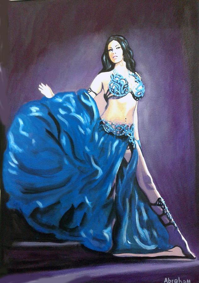 Belly Dancer Painting - Carmen by Jose Manuel Abraham