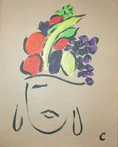 Carmen Miranda Painting - Carmen Miranda by Christina Wilson
