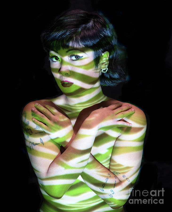 Carmen, Painted With Light - 1 Photograph