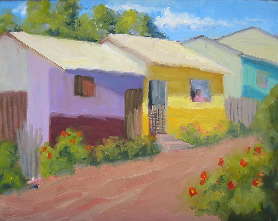 Honduras Painting - Carmens Casa by Bunny Oliver