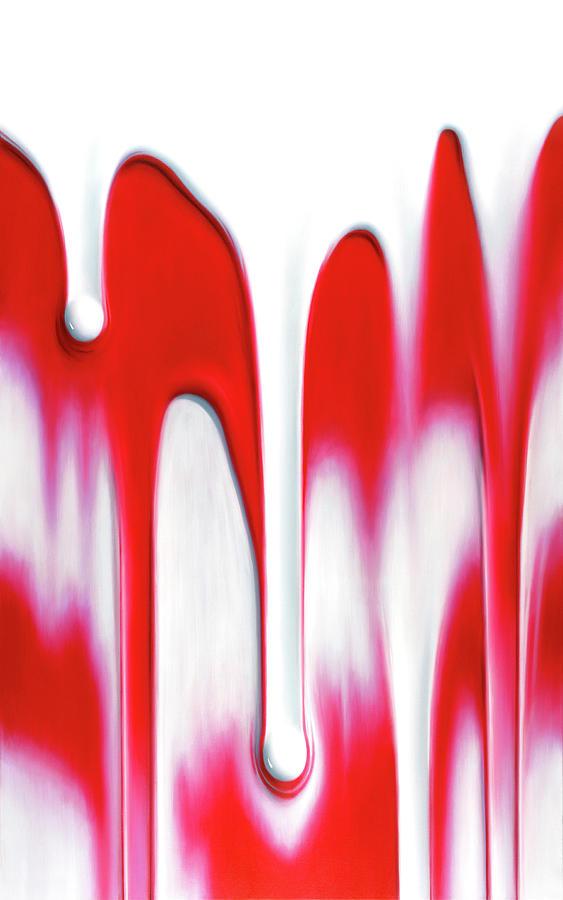 Carmine Painting - Carmine by Brian McCarthy