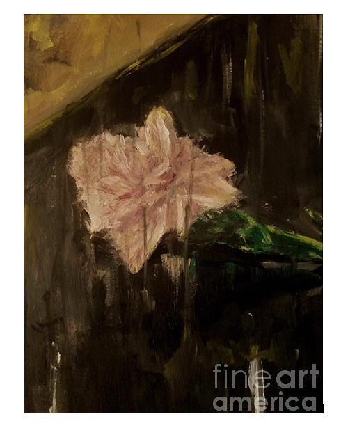 Carnation Painting - Carnation for Harvey by Esmeralda Acupan