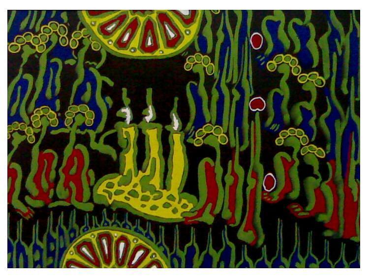 Carnaval Painting by Ebrahim Fleep