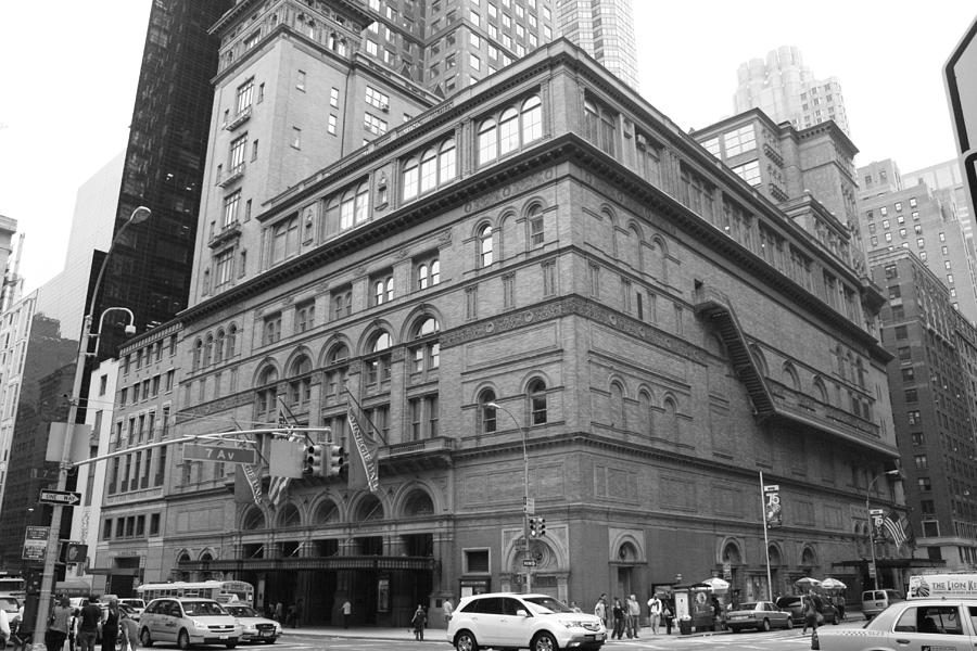 Carnegie Hall Photograph - Carnegie Hall by Christopher Kirby