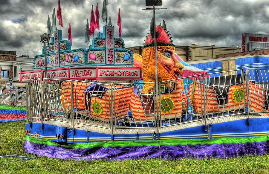 Carnival Photograph - Carnival At Crocker Park by Neil Doren