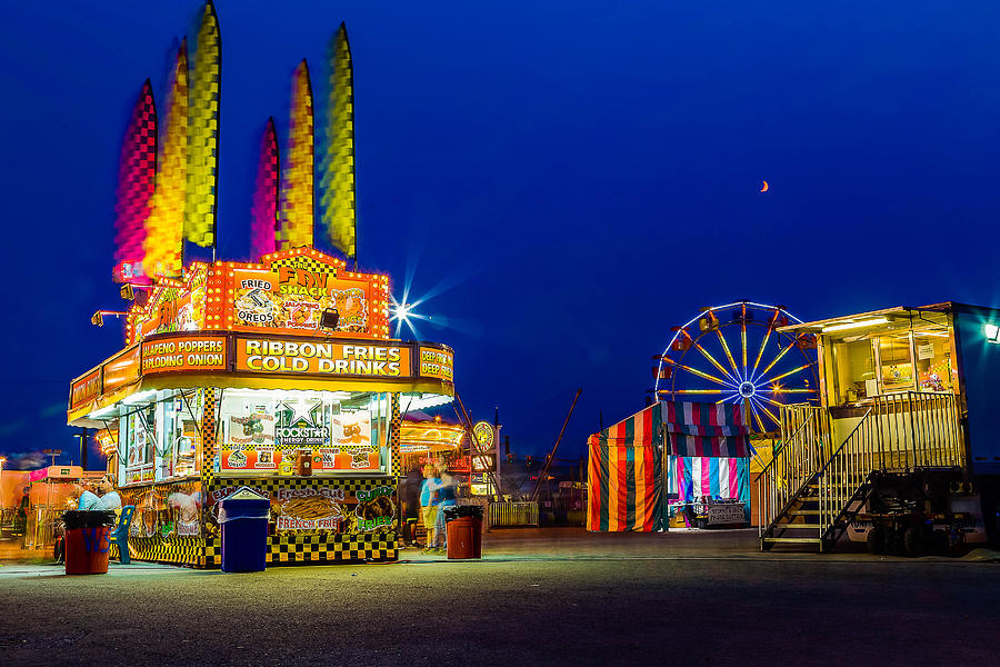 Carnival Photograph - Carnival Glo by Bryan Moore