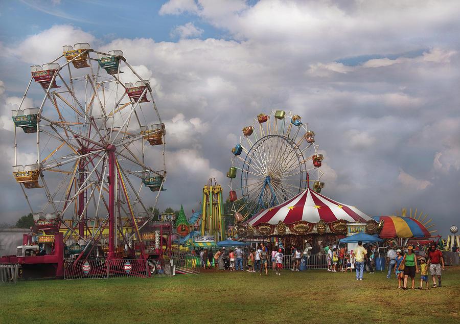 Savad Photograph - Carnival - Traveling Carnival by Mike Savad