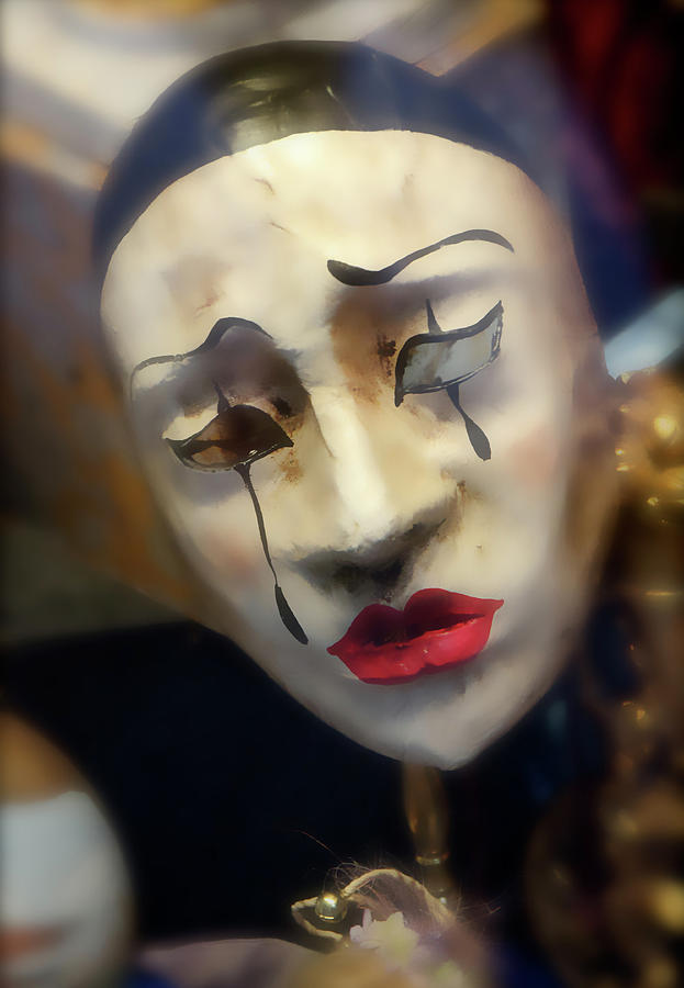 Carnivale Mask 2 by VICKI HONE SMITH