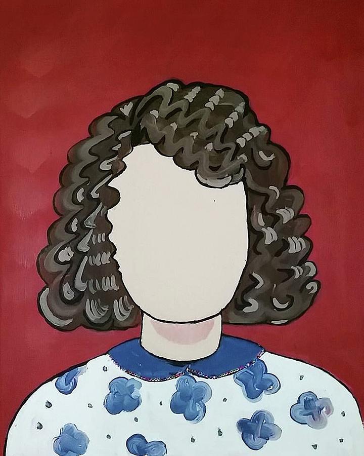 Carol Painting - Carol by Carole Hutchison