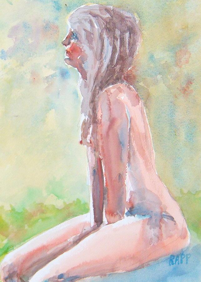 Ccaa Painting - Carol by Jan Rapp