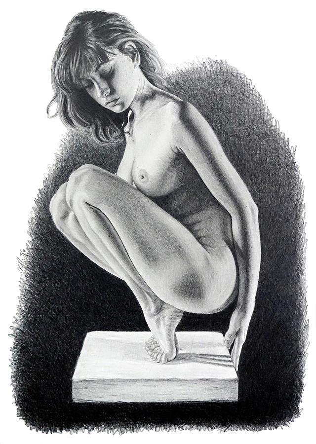 Carole  ORIGINAL ON SALE by Joseph Ogle