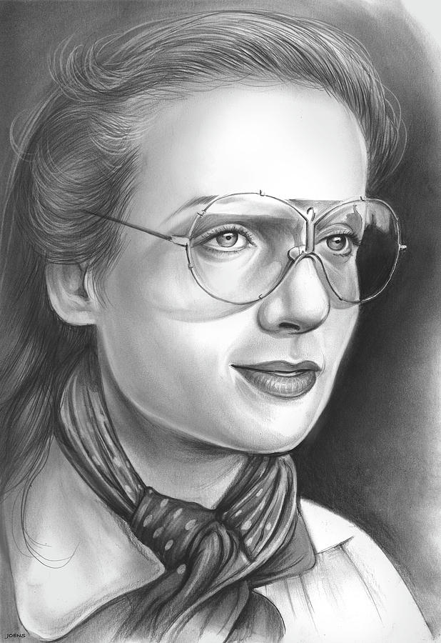 Carole Lombard Drawing